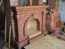 Строим камин на даче своими руками