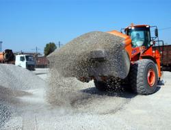 Щебень и песок для строительной индустрии