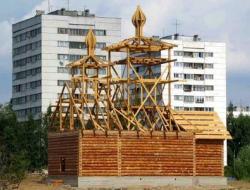 Выбор стен для строительства храма