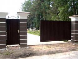 Какие бывают ворота?