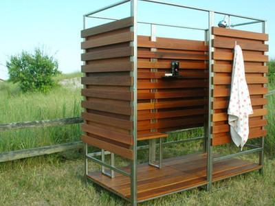 Строим летний душ