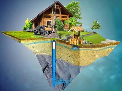 Какие бывают скважины на воду?