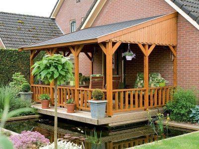 Как пристроить террасу или веранду к дому?
