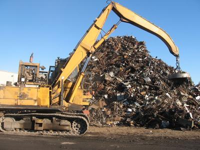 Вывоз металлолома и строительного мусора в Москве