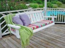 Подушки для скамейки своими руками
