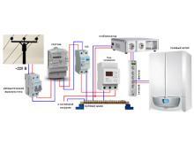 Установка стабилизатора напряжения для газового котла