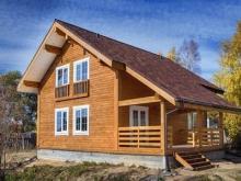 Строительство дома из профилированного бруса: основные достоинства