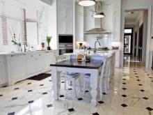 Какой пол выбрать для кухни?