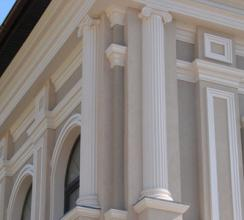 Как оригинально оформить фасад здания