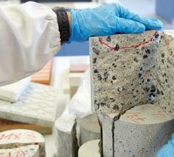Лабораторные испытания бетона