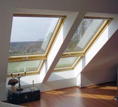 Мансардные окна: достоинства, функции, типы