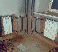 Как заменить систему отопления в квартире